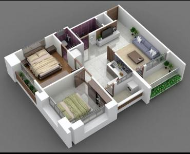 Gallery Cover Image of 4500 Sq.ft 3 BHK Apartment for rent in Shivaji Nagar for 35000