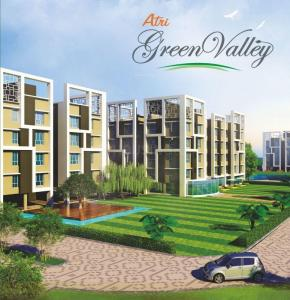 Gallery Cover Image of 1070 Sq.ft 3 BHK Apartment for buy in Atri Green Valley, Rajpur Sonarpur for 3650000
