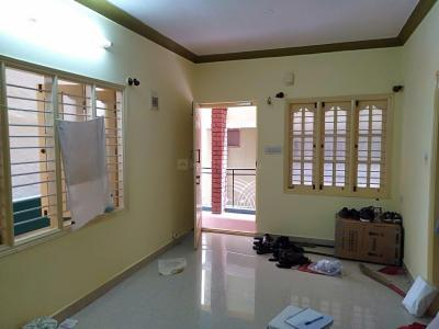 Gallery Cover Image of 444 Sq.ft 1 BHK Independent Floor for rent in Murugeshpalya for 16000