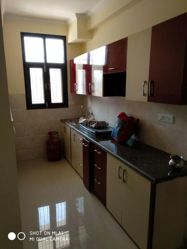 Kitchen Image of 900 Sq.ft 1 BHK Independent Floor for buy in Noida Extension for 2100000