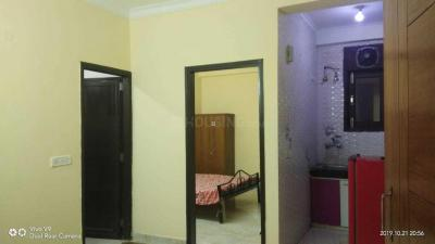 Gallery Cover Image of 450 Sq.ft 1 BHK Apartment for rent in Saket RWA, Saket for 12000