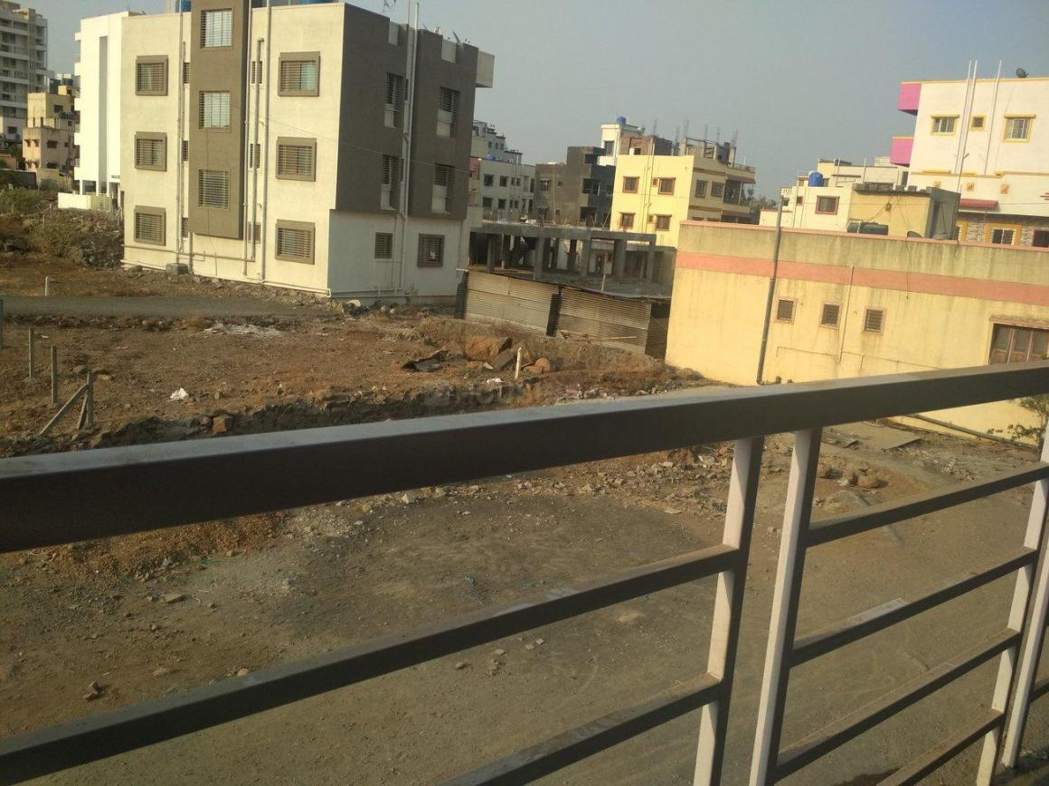 Balcony Image of 560 Sq.ft 1 RK Apartment for rent in Wagholi for 5500
