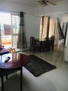 Gallery Cover Image of 1105 Sq.ft 3 BHK Apartment for rent in Swiss County, Thergaon for 21000
