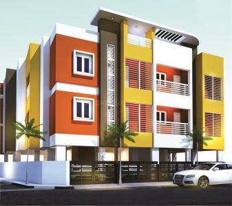 Gallery Cover Image of 1200 Sq.ft 3 BHK Apartment for buy in Tambaram Sanatoruim for 7780000