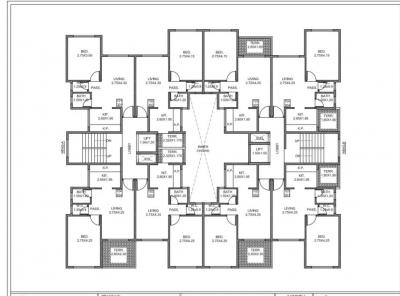 Gallery Cover Image of 600 Sq.ft 1 BHK Apartment for buy in Jindal Sakasi Park III, Akurli for 2900000