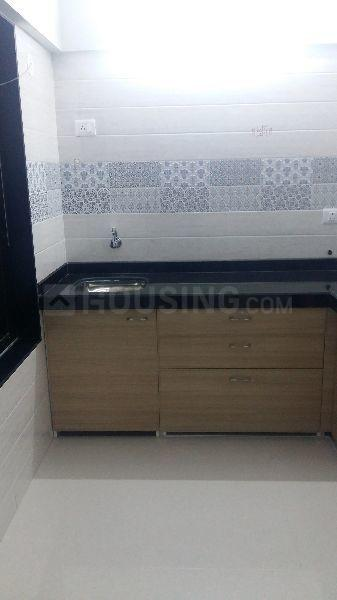 Kitchen Image of 650 Sq.ft 1 BHK Apartment for rent in Dahisar West for 20000