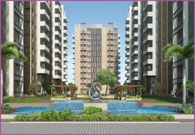 Gallery Cover Image of 1340 Sq.ft 2 BHK Apartment for buy in Ambience Courtyard, Manikonda for 9098600