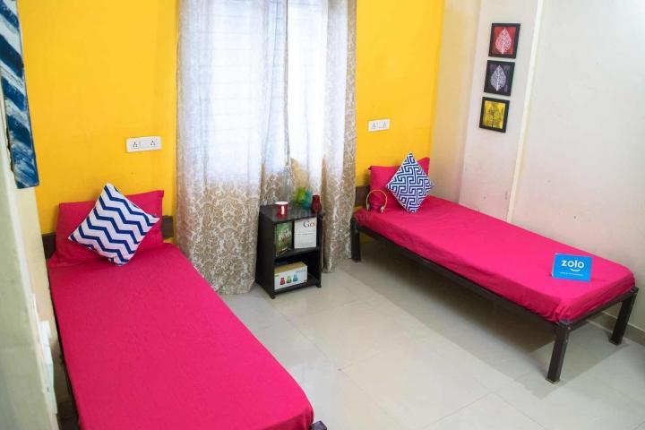 मराठाहल्लि में ज़ोलो क्लोव में बेडरूम की तस्वीर