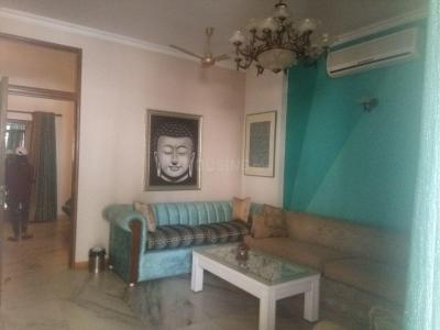 Gallery Cover Image of 1200 Sq.ft 1 BHK Independent Floor for rent in Greater Kailash for 55000