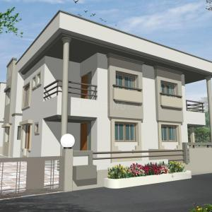 Gallery Cover Image of 2250 Sq.ft 4 BHK Villa for rent in Shilaj for 40000