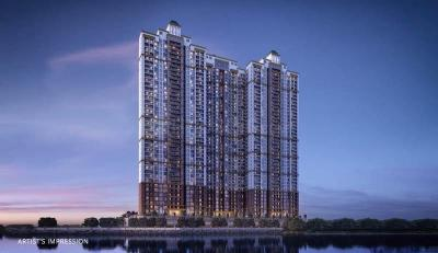 Gallery Cover Image of 1740 Sq.ft 3 BHK Apartment for buy in Paradise Sai World City, Panvel for 12600000