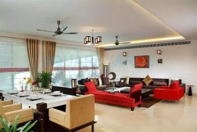 Living Room Image of 4150 Sq.ft 4 BHK Apartment for rent in Omaxe The Forest Spa, Sector 93B for 85000