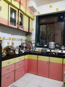 Gallery Cover Image of 596 Sq.ft 1 BHK Apartment for rent in Kopar Khairane for 23000