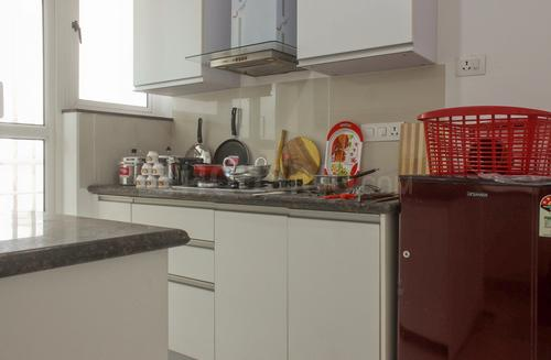 Kitchen Image of D1103 Marvel Citrine in Magarpatta City