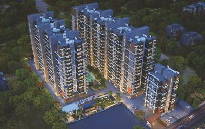 Gallery Cover Image of 999 Sq.ft 2 BHK Apartment for buy in Dhanori for 5280000