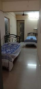 कॉपर खैरने में श्री कृष्ण पीजी के बेडरूम की तस्वीर