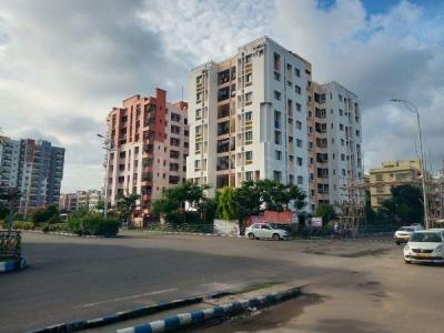 Gallery Cover Image of 1265 Sq.ft 3 BHK Apartment for rent in New Town for 17000