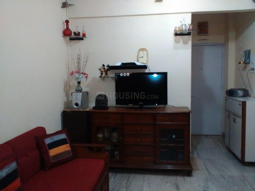 Living Room Image of 600 Sq.ft 1 BHK Apartment for rent in Andheri West for 36000