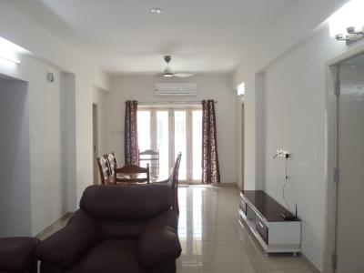 Gallery Cover Image of 1400 Sq.ft 3 BHK Apartment for rent in Thoraipakkam for 35000