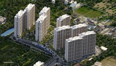 Gallery Cover Image of 1009 Sq.ft 2 BHK Apartment for buy in Sobha Dream Gardens, Thanisandra for 6700000
