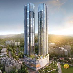 Gallery Cover Image of 864 Sq.ft 2 BHK Apartment for buy in Transcon Triumph Tower 1, Andheri West for 32000000