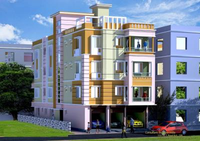 Gallery Cover Image of 418 Sq.ft 1 BHK Apartment for buy in Dakshineswar for 1590000
