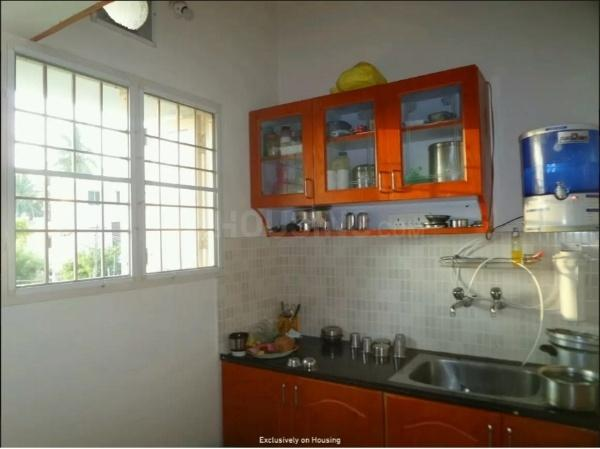 Kitchen Image of 650 Sq.ft 1 BHK Apartment for rent in Tambaram for 11000