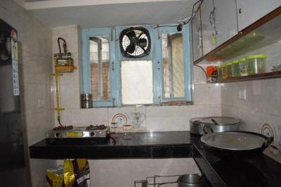 साउथ  एक्सटेंशन आई में गगन पीजी के किचन की तस्वीर