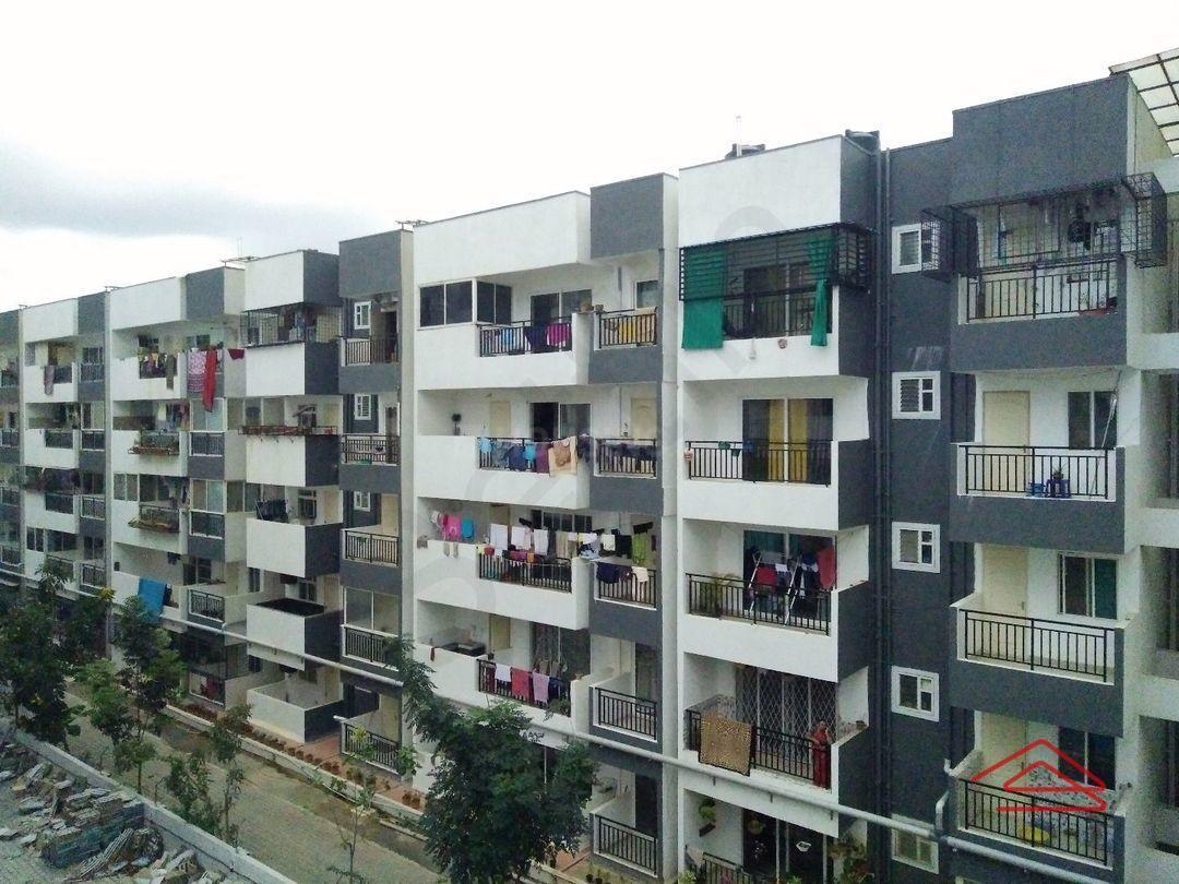 Building Image of 1150 Sq.ft 2 BHK Apartment for rent in SLS Sapphire, Kadubeesanahalli for 28000