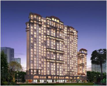 Gallery Cover Image of 500 Sq.ft 1 BHK Apartment for buy in Samrin Heritage, Thane West for 6678500