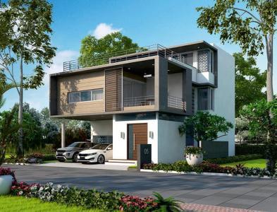 Gallery Cover Image of 3731 Sq.ft 4 BHK Villa for buy in Bandlaguda Jagir for 32500000