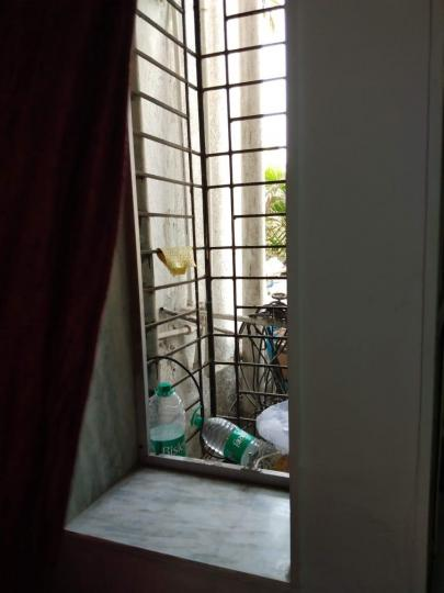Balcony Image of Twin Sharing Room With Attached Bathroom in Bandra West