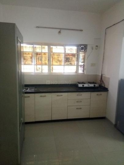 Kitchen Image of 465 Sq.ft 1 RK Apartment for rent in Hadapsar for 15500