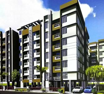 Gallery Cover Image of 615 Sq.ft 2 BHK Apartment for buy in GM Meena Paradise, Kaikhali for 2952000