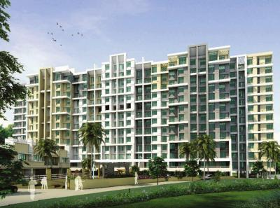 Gallery Cover Image of 700 Sq.ft 1 BHK Apartment for rent in Nirman Brookefield Willows, Pisoli for 10500