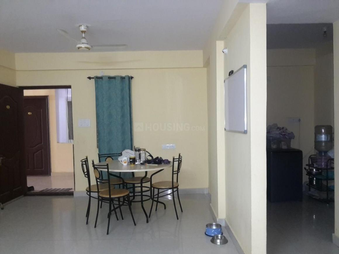 Living Room Image of 1050 Sq.ft 2 BHK Apartment for rent in New Thippasandra for 25000