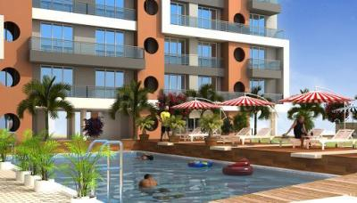 Gallery Cover Image of 1260 Sq.ft 2 BHK Apartment for buy in Universal The Oasis, Belapur CBD for 16500000
