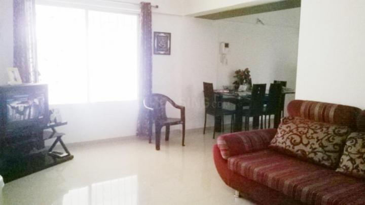 Living Room Image of 991 Sq.ft 2 BHK Apartment for rent in Kharadi for 25000