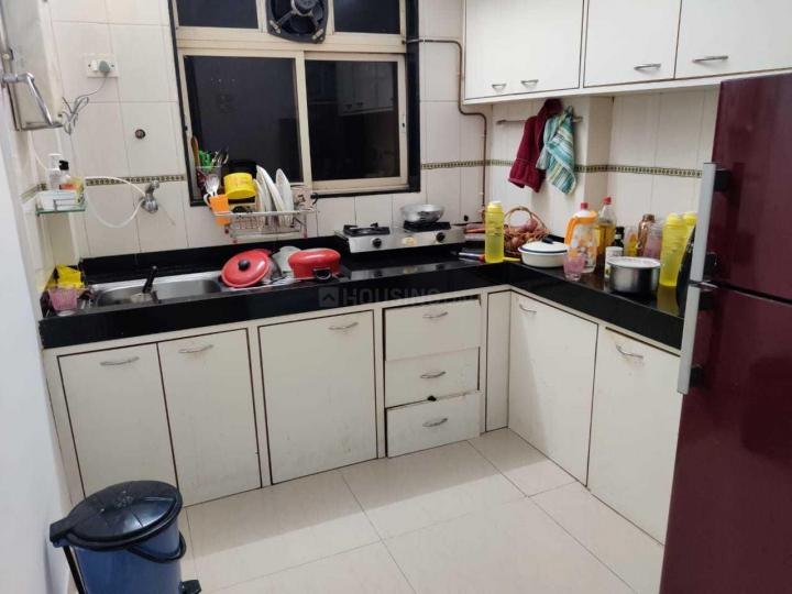 Kitchen Image of 558 Sq.ft 1 BHK Apartment for rent in Wadala for 35000