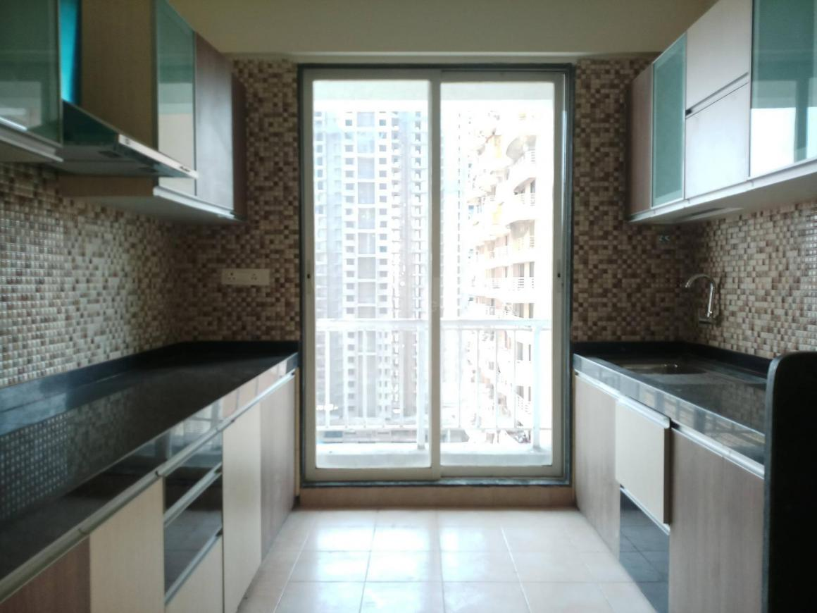 Kitchen Image of 2100 Sq.ft 3 BHK Apartment for rent in Seawoods for 50000