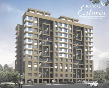 Gallery Cover Image of 1000 Sq.ft 2 BHK Apartment for buy in Goel Ganga Estoria, Undri for 5500000
