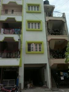 Gallery Cover Image of 500 Sq.ft 1 BHK Independent House for rent in Murugeshpalya for 15000