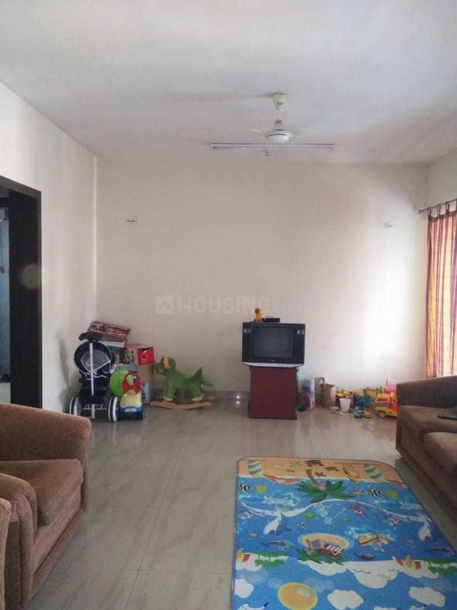 Living Room Image of 600 Sq.ft 1 BHK Apartment for rent in Mohammed Wadi for 12500