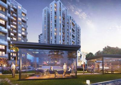 Gallery Cover Image of 950 Sq.ft 2 BHK Apartment for buy in Rahatani for 6200000