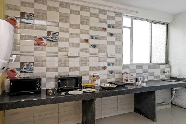 Kitchen Image of Oyo Life Pun460 Pun460 in Hinjewadi