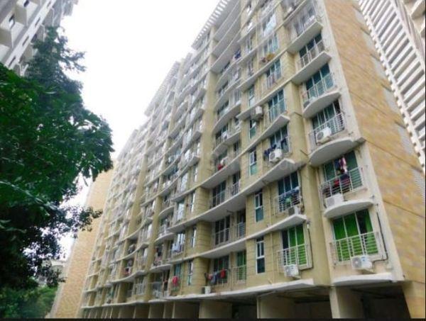 भांडूप वेस्ट में पेइंग गेस्ट बॉइज़ के बिल्डिंग की तस्वीर