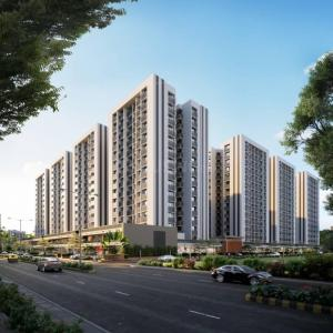 Gallery Cover Image of 1315 Sq.ft 2 BHK Apartment for buy in Shaligram Prime, Bopal for 5600000