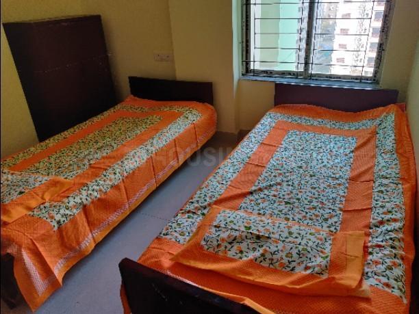 न्यू टाउन में चक्रबर्ती में बेडरूम की तस्वीर