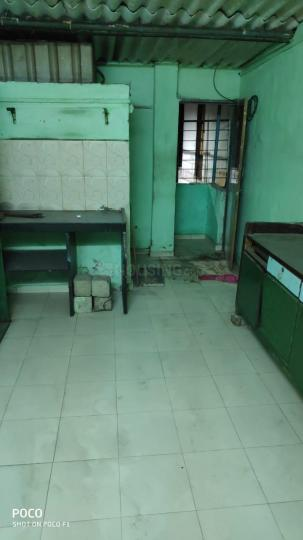 Kitchen Image of 152 Sq.ft 1 RK Independent House for rent in Thane East for 5000