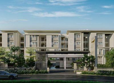 Gallery Cover Image of 685 Sq.ft 1 BHK Apartment for buy in Casagrand Boulevard, Chikkagubbi Village for 3424000